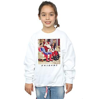 Friends Girls Superman And Santa Sweatshirt
