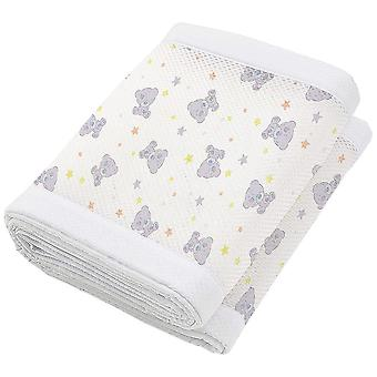 Breathable Baby Mesh Crib Liner 4 Sided