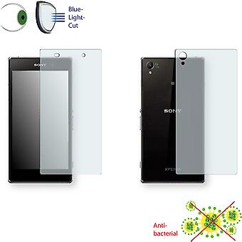 Sony Xperia Z1 LTE display protector - Disagu ClearScreen protector (1 front / 1 rear)