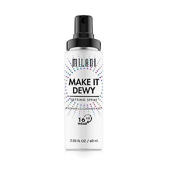 Milani machen es eine Dewy Einstellung Spray 60 ml