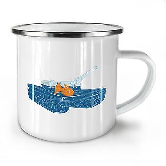 Fish Tank Pun NEW WhiteTea Coffee Enamel Mug10 oz | Wellcoda