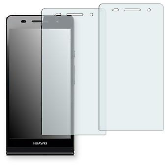 Huawei Ascend P6 display protector - Golebo crystal clear protection film