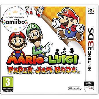 Mario  Luigi Paper Jam (Nintendo 3DS)
