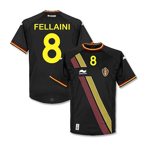 2014-15 Belgium World Cup Away Shirt (Fellaini 8)