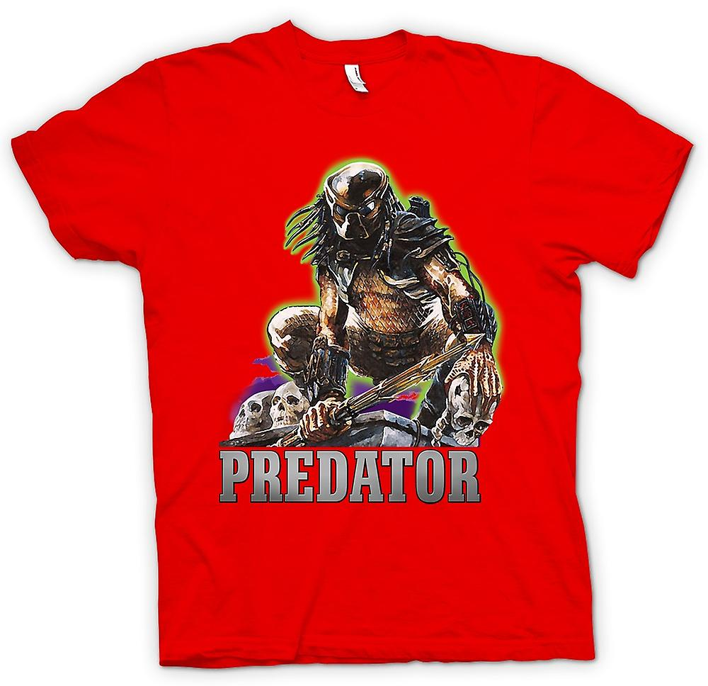 Mens T-shirt - Predator Hunter - Classic Movie