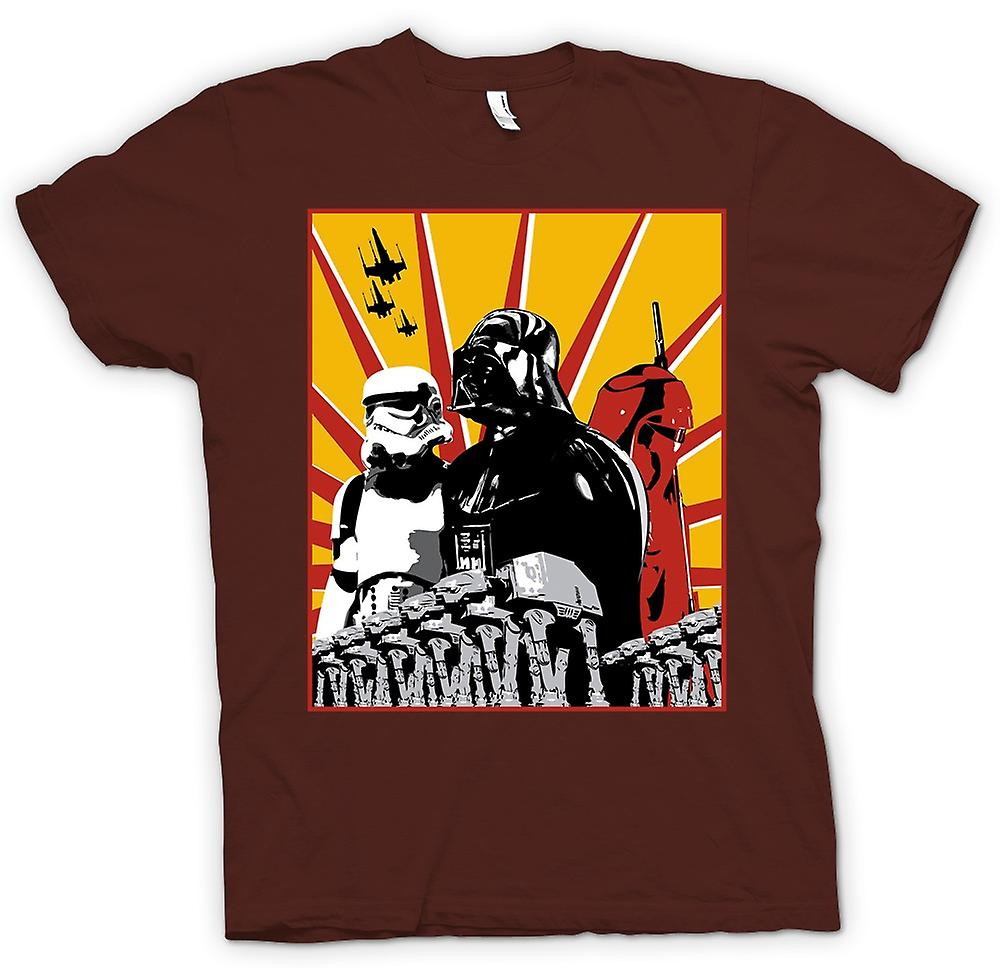 Mens T-shirt - Star Wars - Darth Vader & Sturm Tropper
