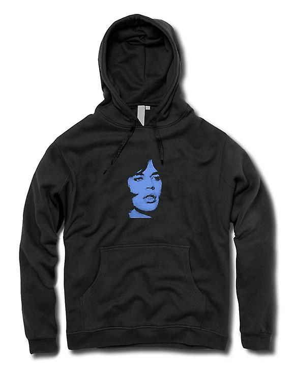 Mens Hoodie - Mick Jagger - Rolling Stones - popart