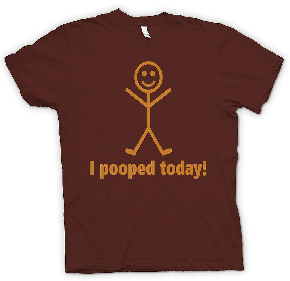 Mens T-shirt - I Pooped Today - Quote