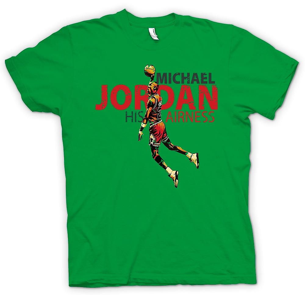 Mens T-shirt - Michael Jordon - son Airness