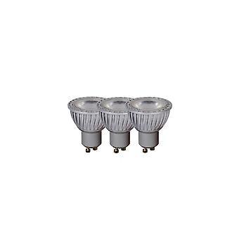 Lucide LED bulbo refletor moderno Grey Material sintético e lâmpada de LED transparente