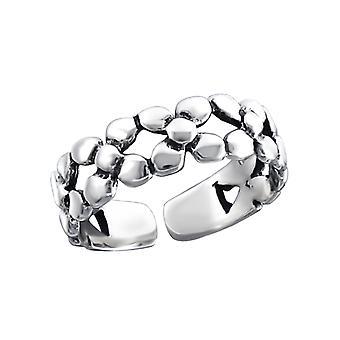 Tejer - 925 anillos de plata del dedo del pie - W15852X