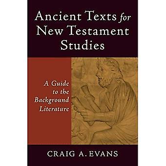 Les textes anciens pour les études du nouveau Testament: A Guide to the Literature information