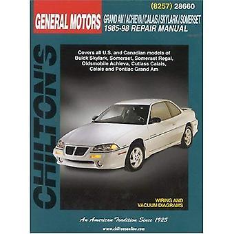 Chilton General Motors Grand Am/Achieva/Calais/Skylark/Somerset: 1985-98 (Chilton Total Car Care Automotive Repair Manuals)