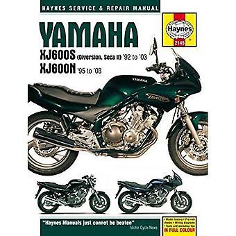 Yamaha XJ600s (Diversion, Seca II) & XJ600n Fours Motorcycle Repair Manual