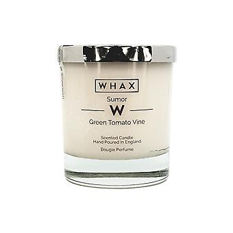 Green tomato vine luxury scented candle