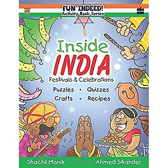 Inside India: Festivals and� Celebrations, Activity Book� for Kids