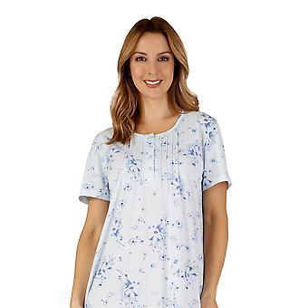 Slenderella ND3122 Frauen Jersey Night Gown Loungewear Nachthemd