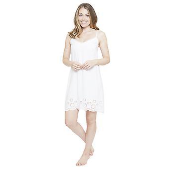 Cyberjammies 4143 Women's Ella White Night Gown Loungewear Nightdress