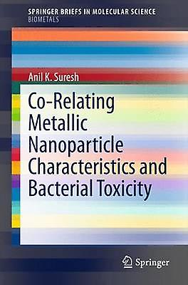 CoRelating Metallic Nanoparticle Characteristics and Bacterial Toxicity by Suresh & Anil K.
