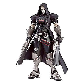 Overwatch Figma printed figure Reaper, made from 100% plastic, in gift packaging.