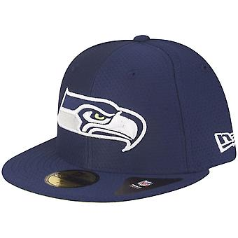 huge selection of 87525 6741a New era 59Fifty Fitted Cap - HEX ERA Seattle Seahawks navy
