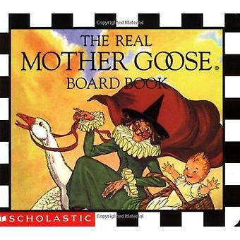 Real Mother Goose½ Board Book Book