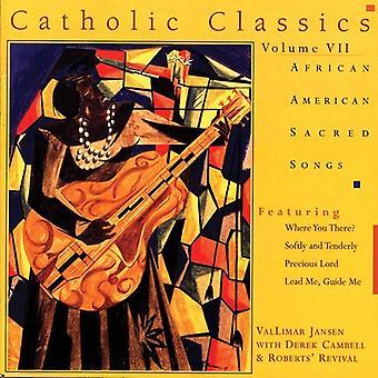 Jansen/Campbell - Jansen/Campbell: Vol. 7-African American Sacred Songs [CD] USA import