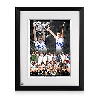 Framed West Ham 1980 FA Cup Final Montage Signed By Sir Trevor Brooking And Billy Bonds