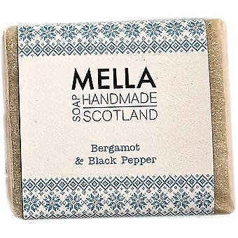 Bergamot & Black Pepper Soap Bar - Mella Handmade Soaps Shetland