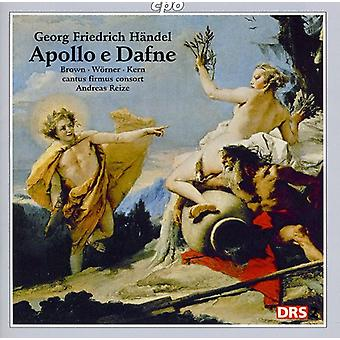 G.F. Haendel - Handel : Apollo E Dafne [CD] USA import