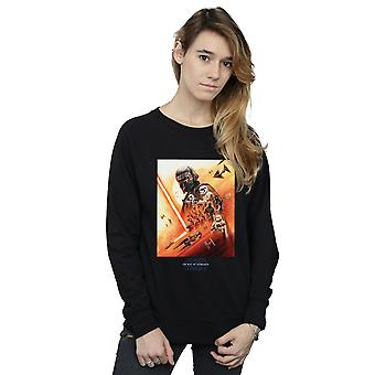Star Wars The Rise Of Skywalker First Order Poster Women's Sweatshirt