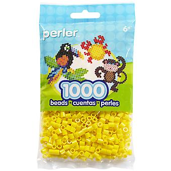 Perler Fun Fusion Beads 1000 Pkg Yellow Pbb80 19 19003