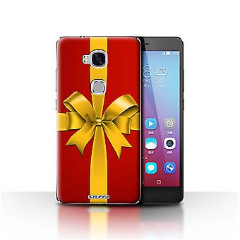 STUFF4 Case/Cover for Huawei Honor 5X/GR5/Gift/Present/Christmas Decorations