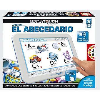Educa ABC Junior learn Touch (Toys , Educative And Creative , Vocabulary)