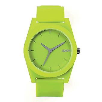 Lime Lexon Spring Rubber Watch Small