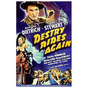 Destry Rides Again Movie Poster Print (27 x 40)