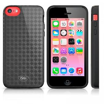 Skin Flex cover case iPhone 5C Black