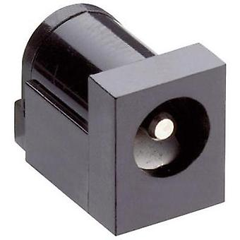Low power connector Switch contact type: Normally-closed Socket, horizontal mount 6 mm 2.35 mm Lumberg 161321 1 pc(s)