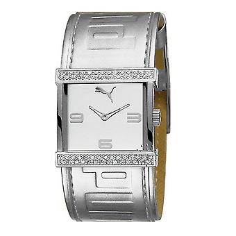 PUMA watch bracelet watch ladies swap silver PU101652001