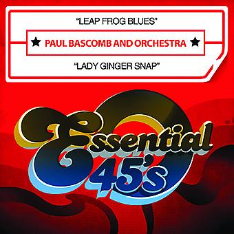 Paul Bascomb & Orchestra - Leap Frog Blues / Lady Ginger Snap USA import