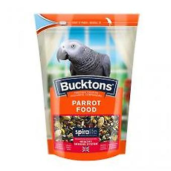 Bucktons Parrot Food With Spiralife 1.5kg (Pack of 4)