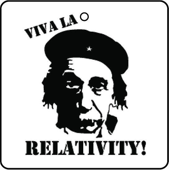 Viva La Relativity Car Air Freshener