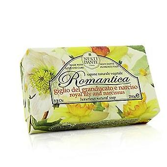 Romantica Luxurious Natural Soap - Royal Lily & Narcissus - 250g/8.8oz