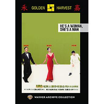 He's a Woman She's a Man [DVD] USA import