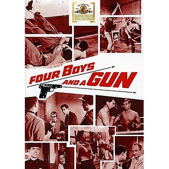 Four Boys & a Gun [DVD] USA import