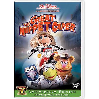 Mupparna - den fantastiska Muppet kapris [Kermits 50-årsjubileum Edition] [DVD] USA import