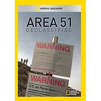 Area 51 Declassified [DVD] USA import