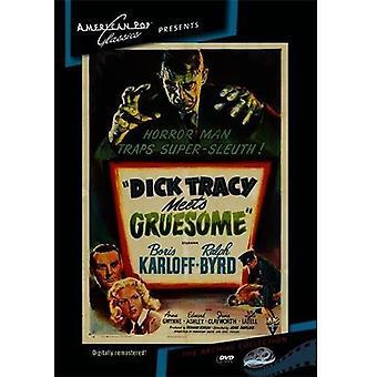 Importación de los E.e.u.u. Dick Tracy resuelve espantoso [DVD]