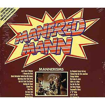 Manfred Mann - manerer [CD] USA importerer