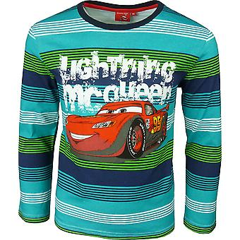 Boys Disney Cars Lightning McQueen HO1094 Long Sleeve Top
